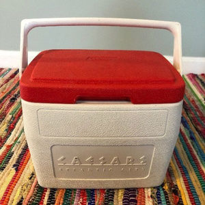 80s Coleman Personal Cooler Caesars Palace